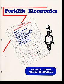 FORKLIFT ELECTRONICS TRAINING MANUAL COVER